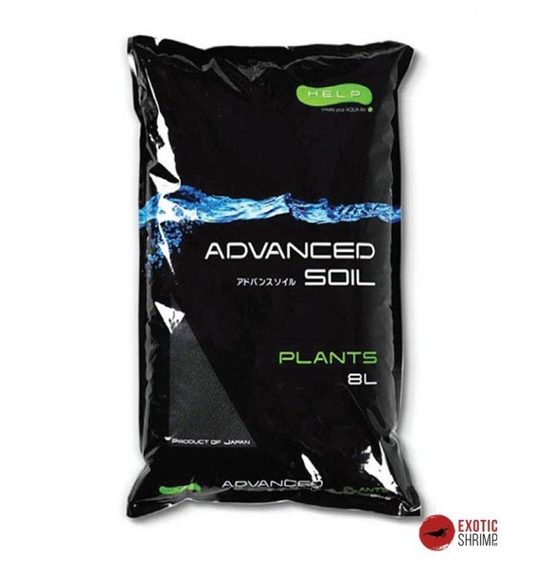 advanced soil help plants 8L exotic shrimp