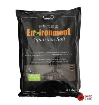 sustrato Environment Aquarium Soil powder 4L exotic shrimp