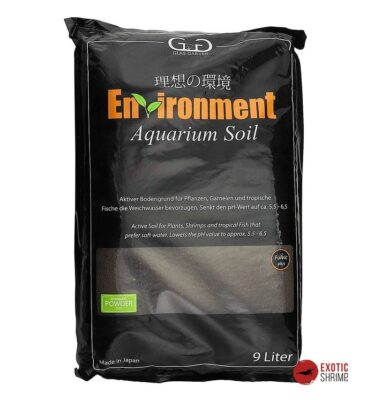 sustrato Environment Aquarium Soil powder 9L exotic shrimp