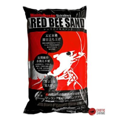 sustrato Red Bee Sand 8kg soil exotic shrimp