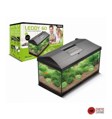 acuario aquael kit leddy 60 exotic shrimp