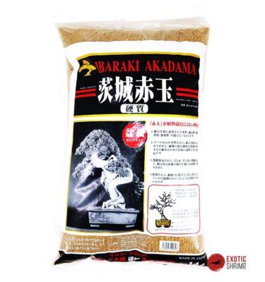 sustrato akadama ibaraki grano medio exotic shrimp
