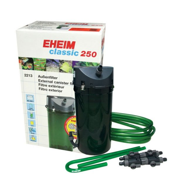 EHEIM CLASSIC 2213 (250) + LLAVES + ESPONJAS