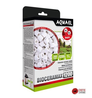 bioceramax pro 1200 aquael exotic-shrimp