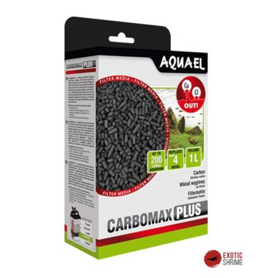 carbomax plus carbon activo aquael exotic-shrimp