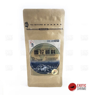 gei lee snowflake shrimp food exotic shrimp