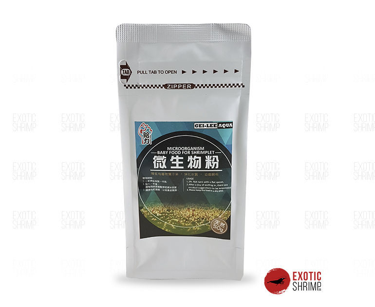 gleen lee baby food exotic shrimp