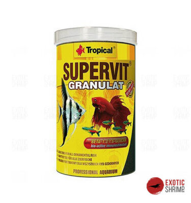 supervir granulat tropical 250 alimento para peces exotic shrimp imag destacada