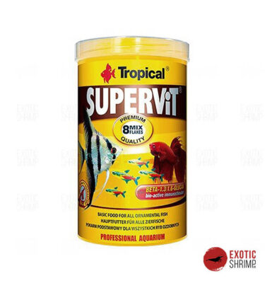 supervir mix tropical alimento para peces exotic shrimp imag destacada