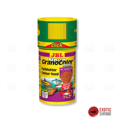JBL NOVOGRANO COLOR MINI CLICK 100ML exotic shrimp imag destacada