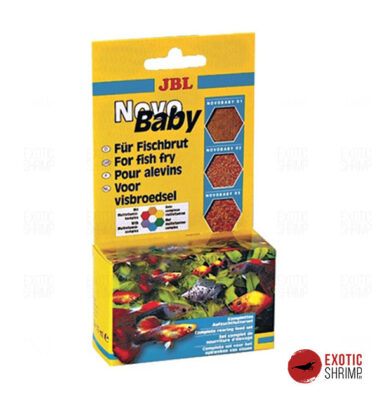 JBL NovoBaby 3 x 10 ml exotic shrimp imag destacada