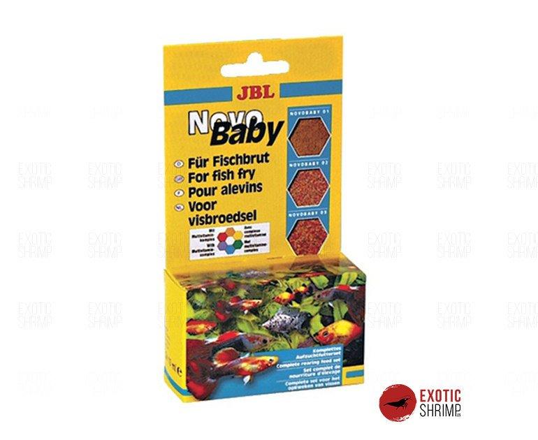 JBL NovoBaby 3 x 10 ml exotic shrimp imag destacada