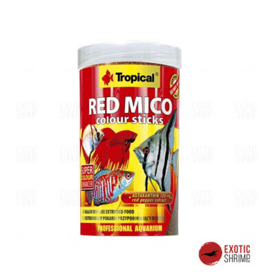 TROPICAL RED MICO COLOUR STICKS 100ML exotic shrimp imag destacada