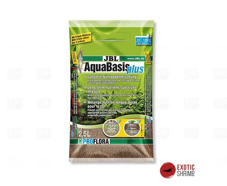 aquabasis plus 2,5 litros sustratos y gravas exotic shrimp
