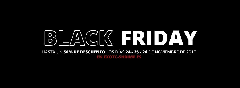 black friday 2017 imagen destacada exotic shrimp